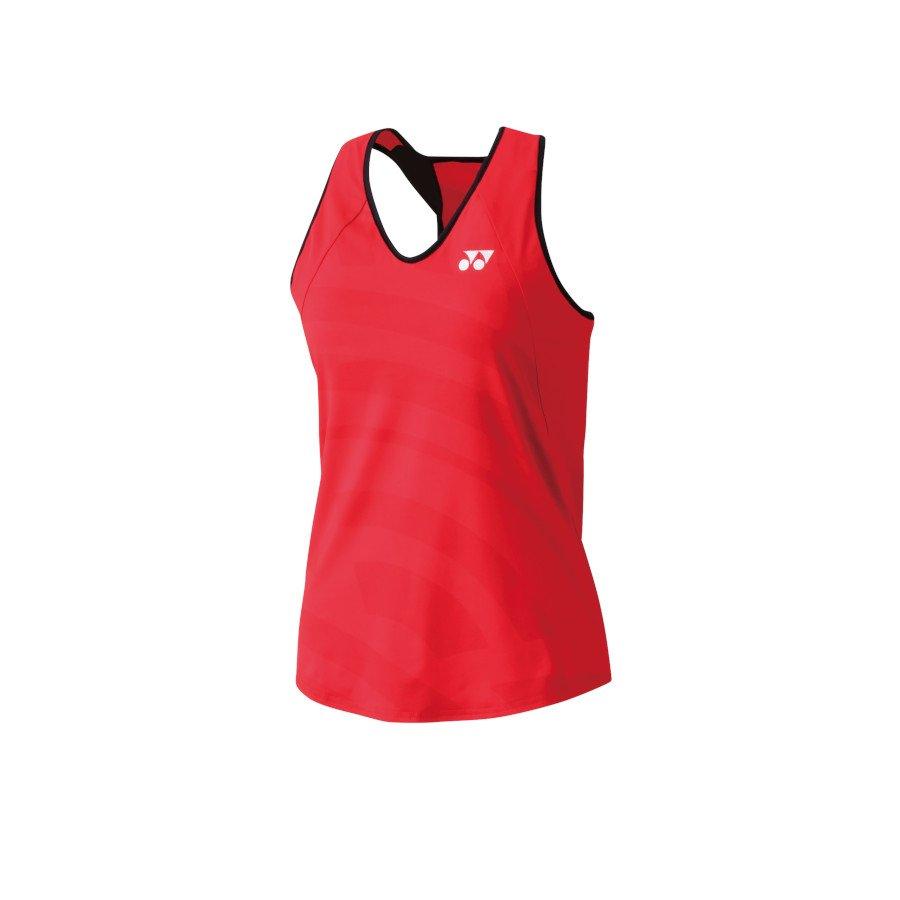 Yonex Tank with Inner Bra Tennis Dress (flash red)
