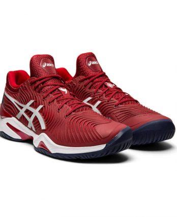 Asics Tennis Shoes (M) – COURT FF NOVAK (red)