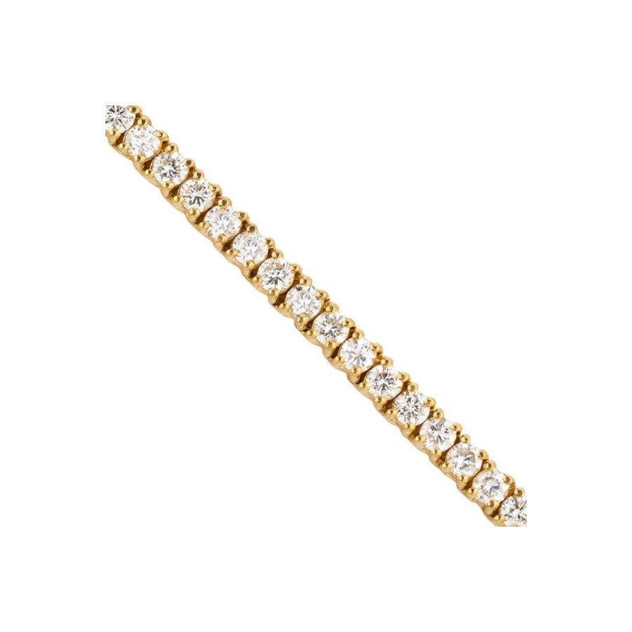 Diamond Tennis Chain in 14K Yellow Gold