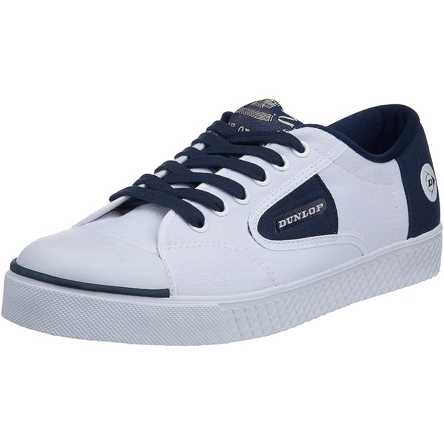 Dunlop Tennis Shoes – 1555 Lace Navy Flash Trainer (Men)