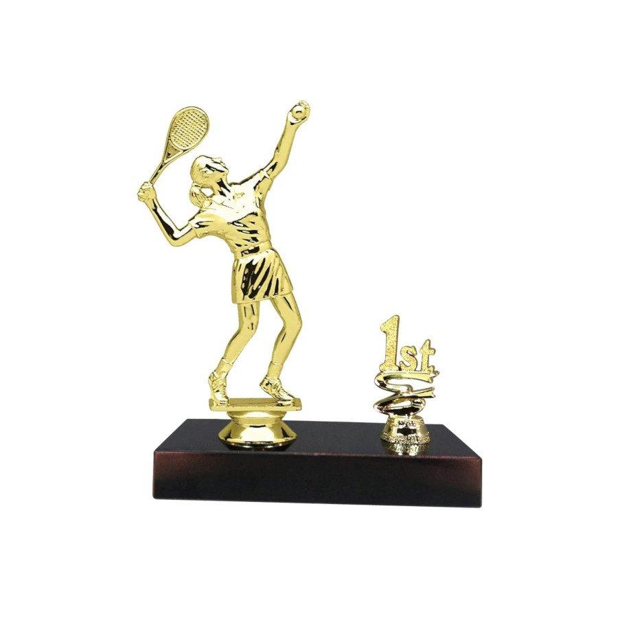 First Place Women Tennis Trophy