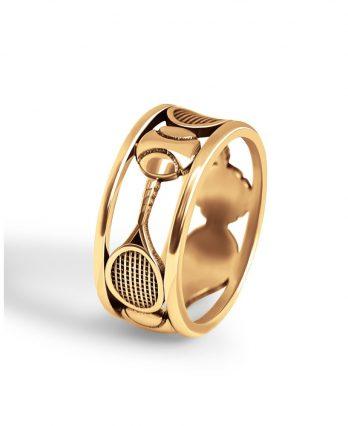 Gold Tennis Ring
