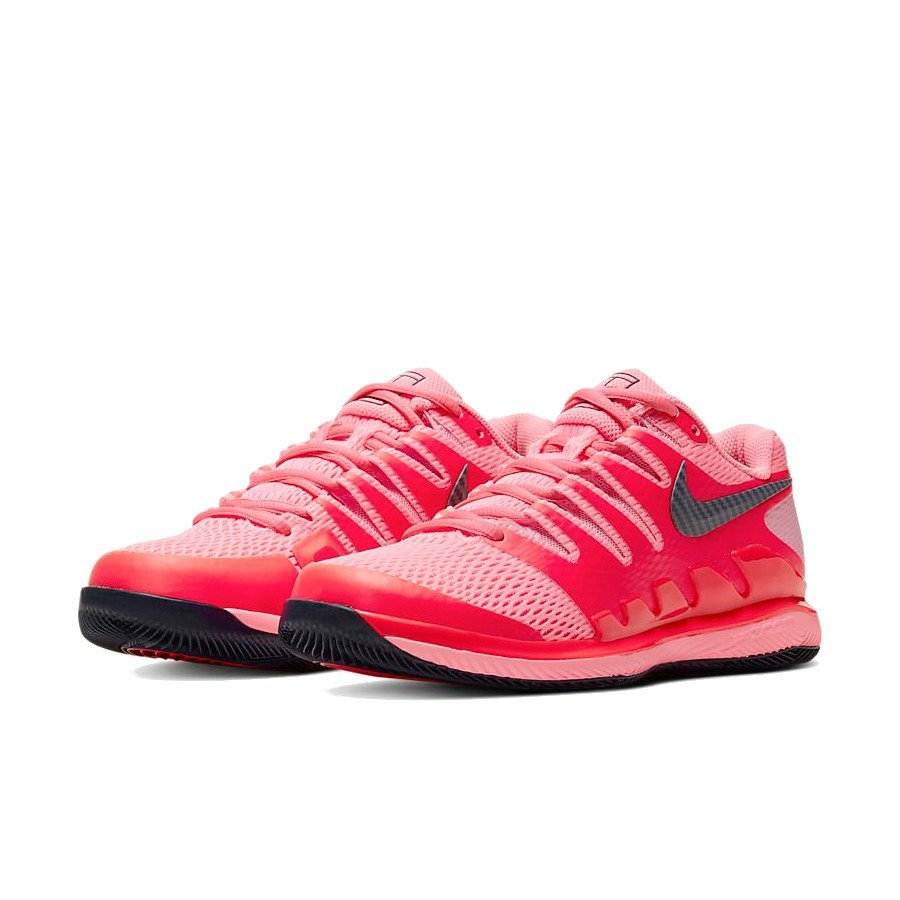 Nike Tennis Shoes – NikeCourt Air Zoom Vapor X for Women (red)