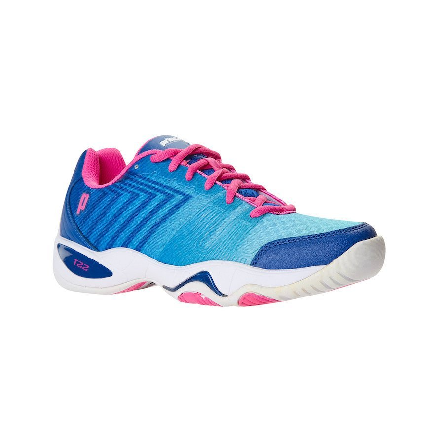 Prince Tennis Shoes – T22 Lite Ocean-White-Pink (Woman)