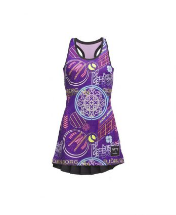 Tennis Dress from Bjorn Borg (one of the best tennis brands) – Tess Dress Naito Purple