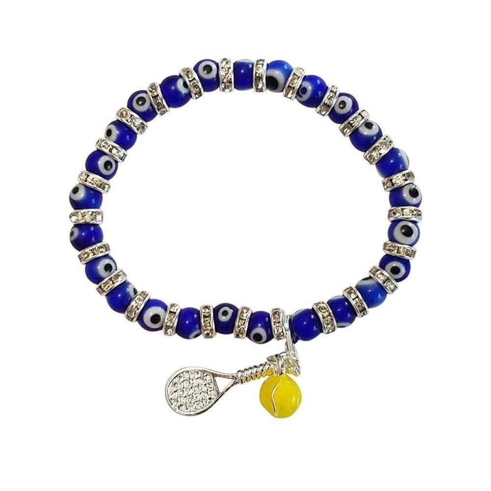 Tennis jewelry consisting of karma tennis bracelet
