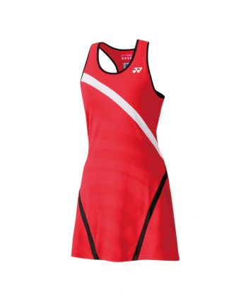 Yonex Tennis Apparel (W) – Dress with Inner Short (flash red)