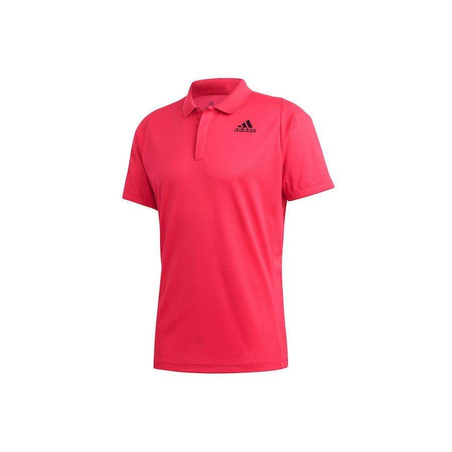 Adidas Tennis Clothing – Freelift Tennis Polo Shirt Heat.rdy (red)