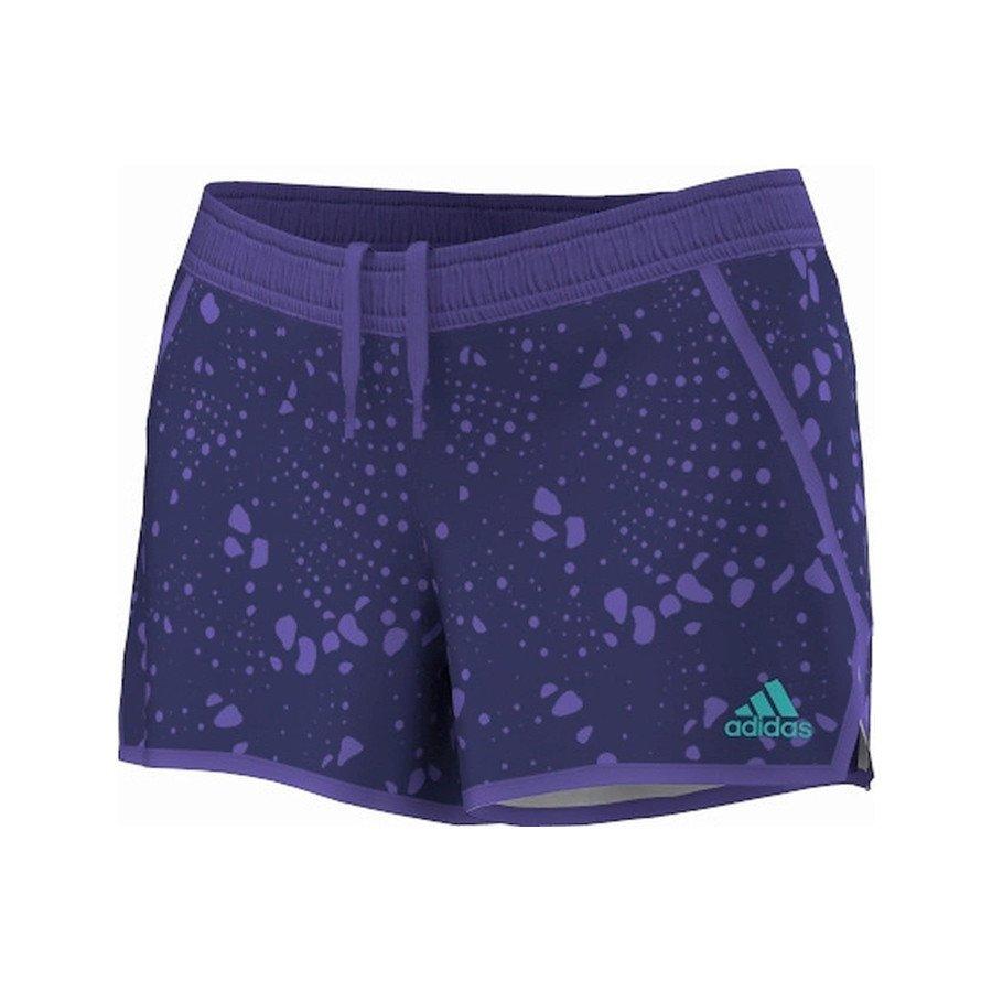 Adidas Tennis Clothing – Women's Response Tennis Short (Purple)