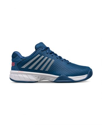 K-Swiss HyperCourt Express 2 for Men (Dark Bkue - White - Bittersweet)