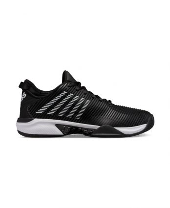 K-Swiss HyperCourt Supreme for Men (Black & White)