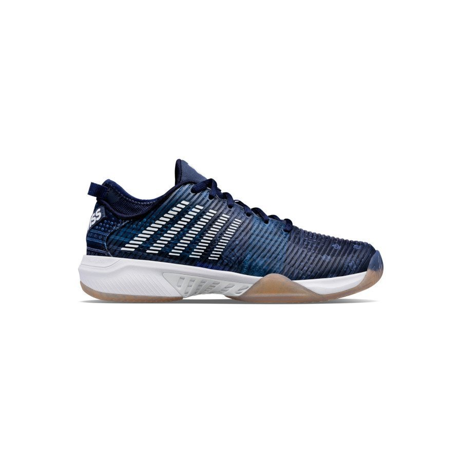 K-Swiss Tennis Shoes – MEN'S HYPERCOURT SUPREME (LE PEACOAT : DARK DENIM : WHITE)