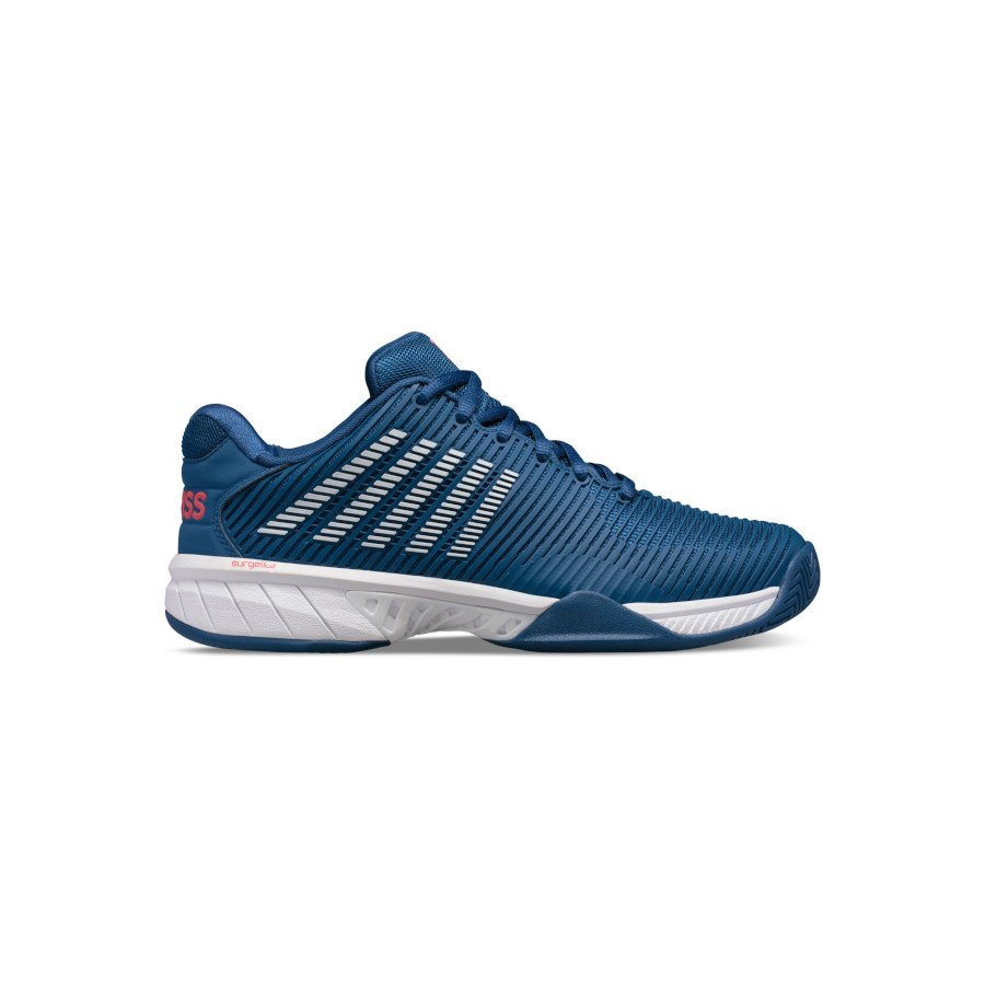 K-Swiss Tennis Shoes – Men's HYPERCOURT EXPRESS 2 (DARK BLUE:WHITE:BITTERSWEET)