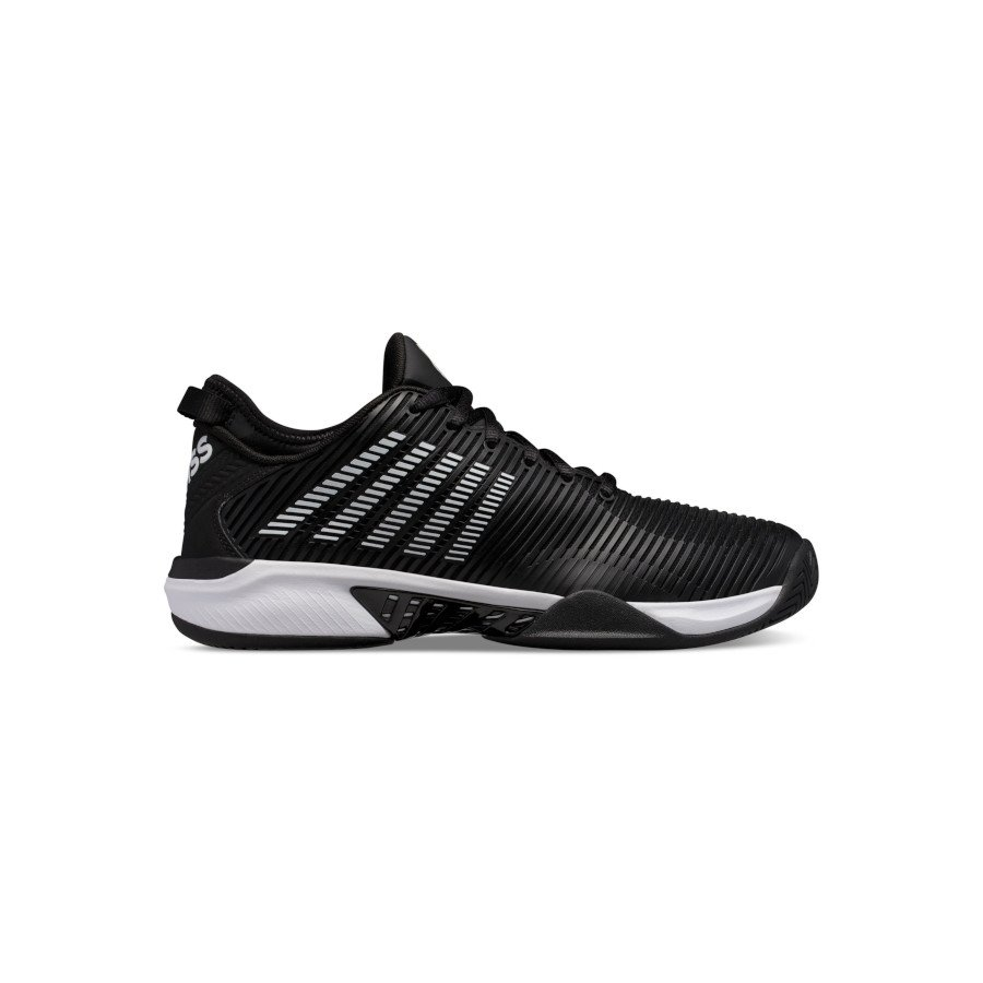 K-Swiss Tennis Shoes – Men's HYPERCOURT SUPREME (BLACK:WHITE)