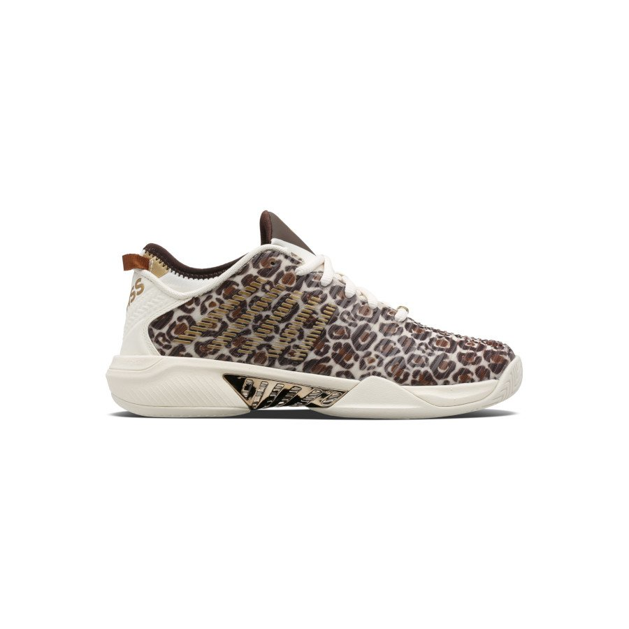 K-Swiss Tennis Shoes – WOMEN'S HYPERCOURT SUPREME LE LEOPARD