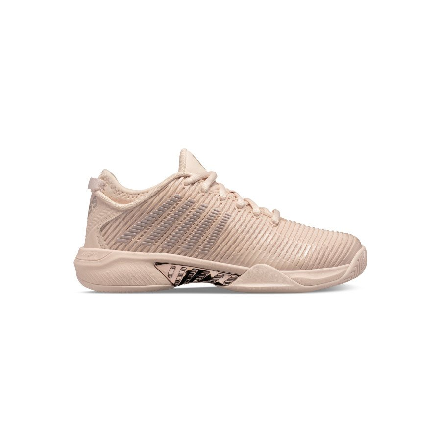 K-Swiss Tennis Shoes – Women's HYPERCOURT SUPREME (PINK TINT : ROSE GOLD)