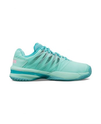 K-Swiss Ultrashot 2 for Women (Aruba Blue - Malibu Blue - Soft Neon Pink)