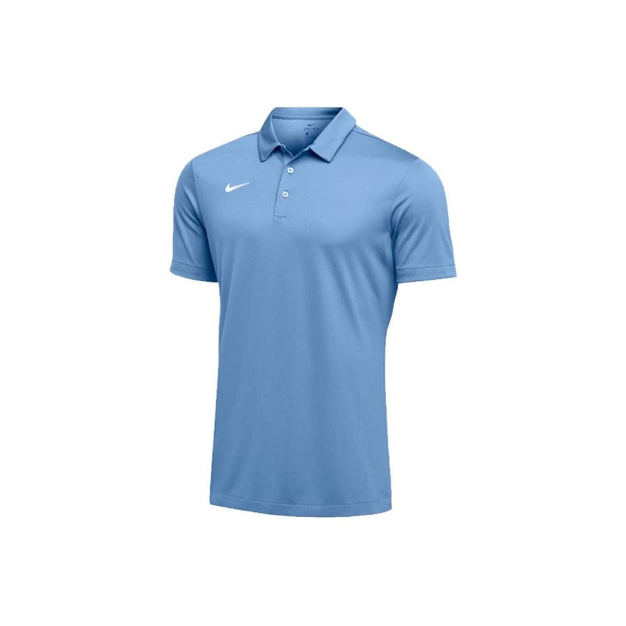 Nike Tennis Clothing – Men's Dri-FIT Short Sleeve Polo Shirt (Sky Blue)