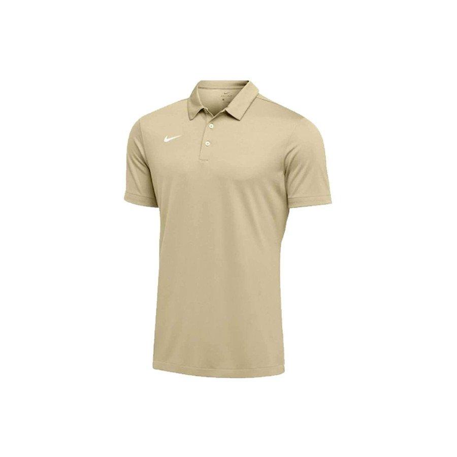 Nike Tennis Clothing – Men's Dri-FIT Short Sleeve Polo Shirt (Team Gold)