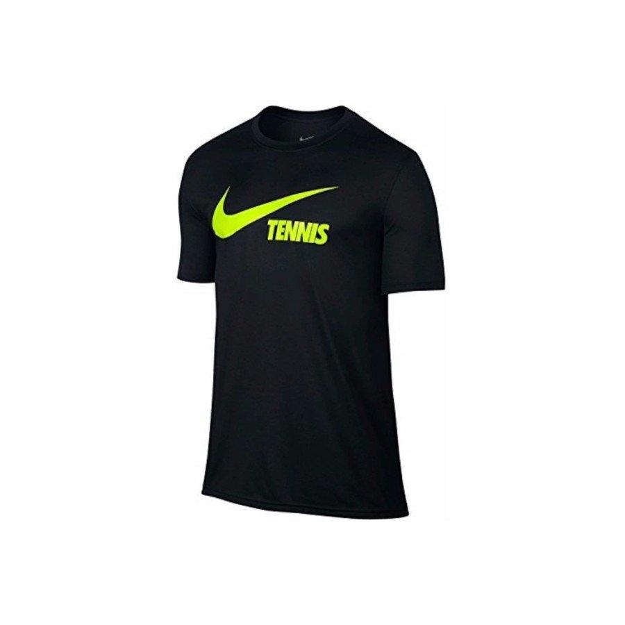 Nike Tennis Clothing – Men's Swoosh Tennis T-Shirt (Black)