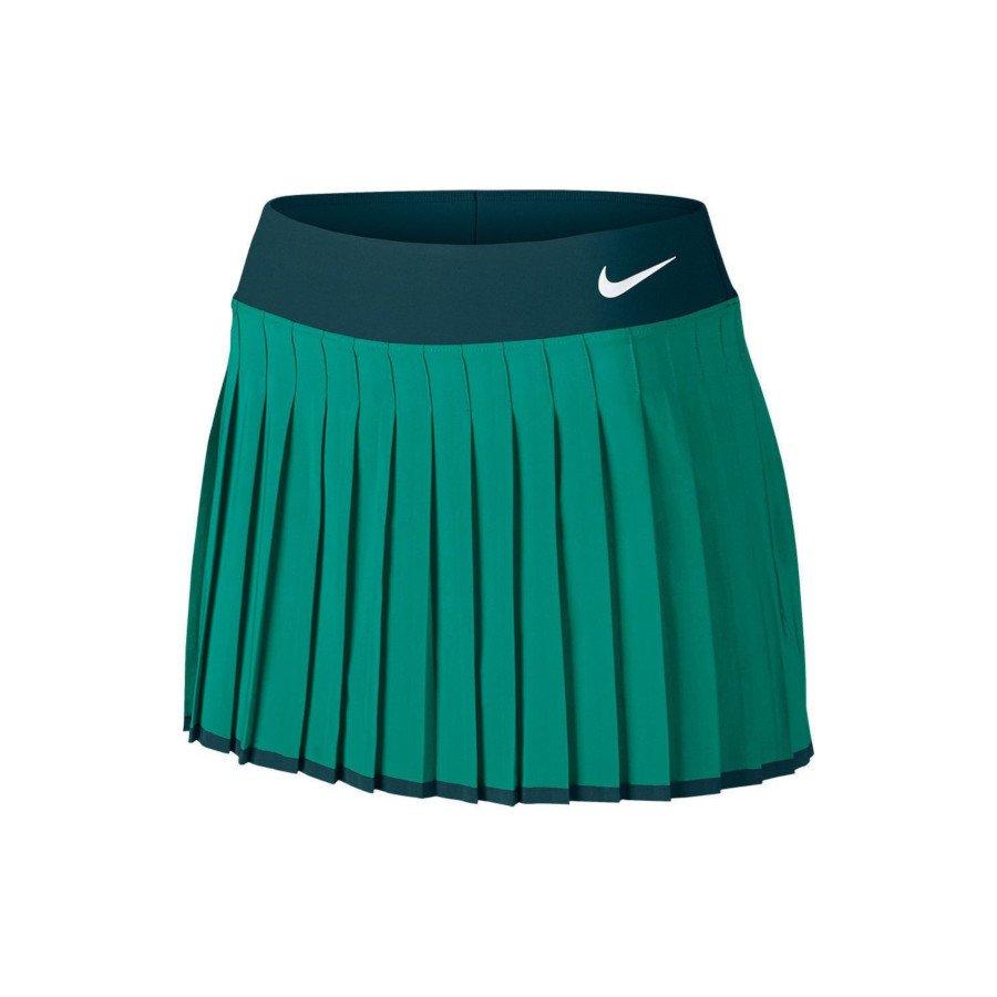 Nike Tennis Clothing – Women's Court Premier Tennis Skirt (green)