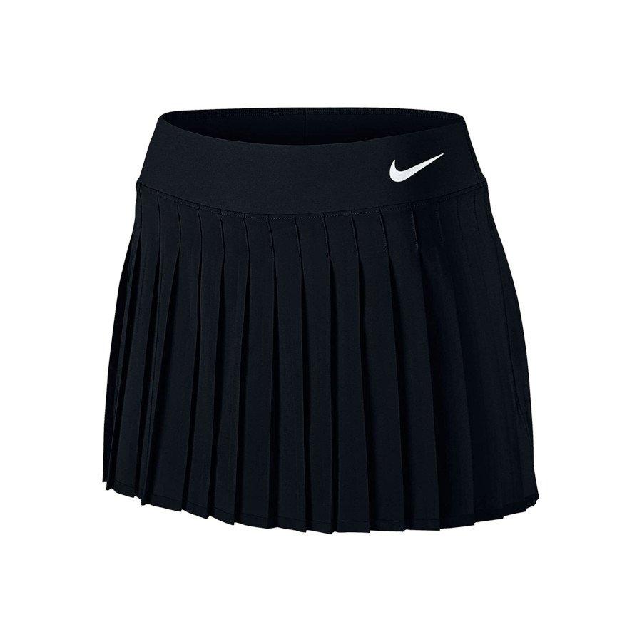 Nike Tennis Clothing – Women's Court Victory Tennis Skirt (Black)