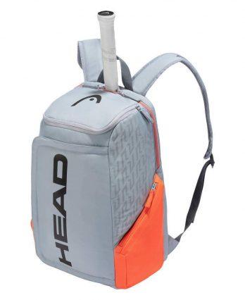 Head Rebel Backpack (Grey & Orange)